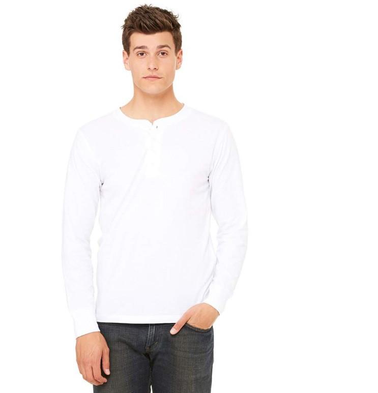034996b7aa4f Koszulka z długimi rękawami jersey henley · Koszulka z długimi rękawami  jersey henley ...