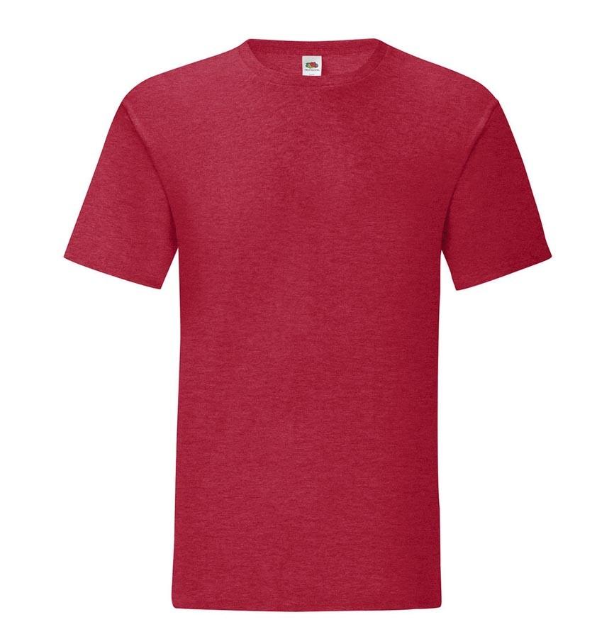Męska lekka koszulka Iconic (rozmiary 3XL, 4XL, 5XL) FRUIT