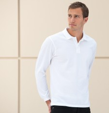 Long Sleeve Classic Cotton Polo R-569L-0 017