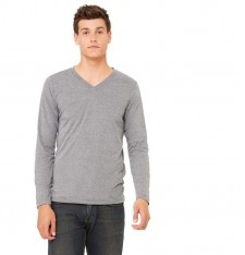 LONG SLEEVE V-NECK TEE 3425 041