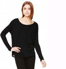 WOMEN'S FLOWY LONG SLEEVE TEE 8852 053