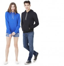 UNISEX POLY-COTTON FLEECE PULLOVER HOODIE 3719 100