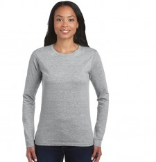 LADIES SOFT STYLE LONG SLEEVE T-SHIRT 64400L 139