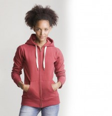 WOMEN'S SUPERSTAR ZIP THROUGH HOODIE M84 177