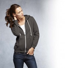 WOMEN'S FULL-ZIP HOODED SWEATSHIRT 71600FL 202