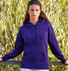LADY-FIT LIGHTWEIGHT HOODED SWEAT 62-148-0 348