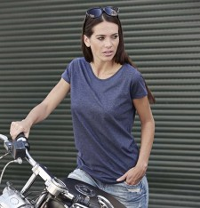 LADIES` URBAN MELANGE TEE 5051 408