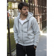 HOODED ZIP SWEAT 5435 412
