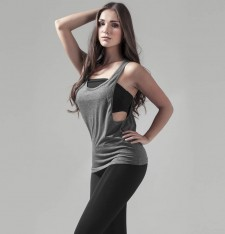 LADIES LOOSE TANK BY020 533
