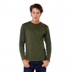 B&C #E150 LSL SINGLE JERSEY LONG-SLEEVED T-SHIRT TU05T 585