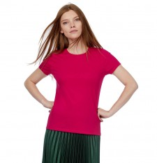 B&C #E190/WOMEN SINGLE JERSEY SHORT-SLEEVED T-SHIRT TW04T 589