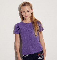 GIRLS ICONIC T FRUIT OF THE LOOM 61-025-0 602