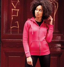 LADIES` AUTHENTIC ZIPPED HOOD R-266F-0 148