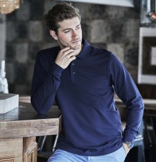 LUXURY LS STRETCH POLO 1406 427