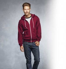 ADULT FULL-ZIP HOODED SWEATSHIRT 71600 201