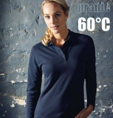 WOMEN'S HEAVY POLO LS 4605 442