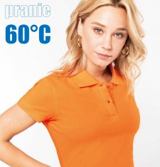 LADIES' SHORT SLEEVE PIQUE POLO SHIRT K242 772