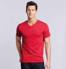 PREMIUM COTTON ADULT V-NECK T-SHIRT 41V00 816