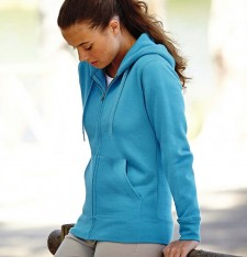 PREMIUM LADY-FIT HOODED SWEAT JACKET 62-118-0 337