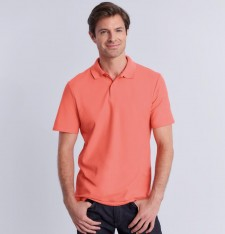 SOFTSTYLE® ADULT DOUBLE PIQUE POLO 64800 818