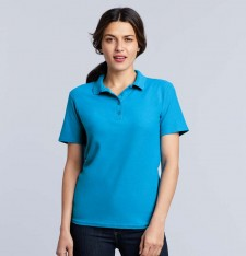 SOFTSTYLE® LADIES DOUBLE PIQUE POLO 64800L 820