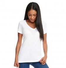 LADIES` IDEAL V NECK-T 1540 889