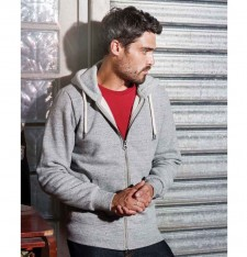 MEN'S VINTAGE ZIPPED HOODED SWEATSHIRT KV2306 897
