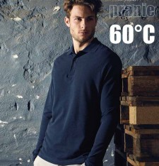 MEN'S HEAVY POLO LS 4600 441