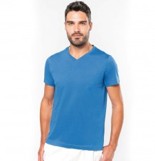 MEN'S SHORT SLEEVE V-NECK T-SHIRT K357 934