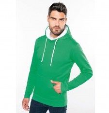 CONTRAST HOODED SWEATSHIRT K446 988
