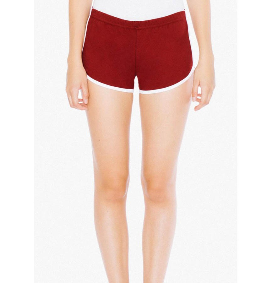 WOMEN`S INTERLOCK RUNNING SHORTS 7301W 529