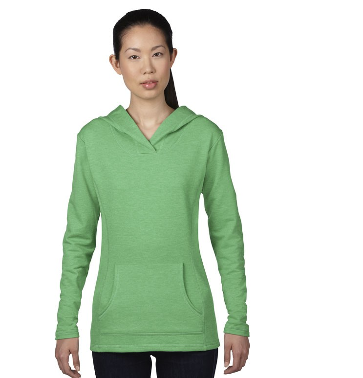WOMEN'S HOODED FRENCH TERRY 72500L 200